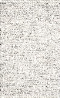 Safavieh Rag Rug Collection RAR121G Hand Woven Ivory and Multi Cotton Area Rug (5' x 8')