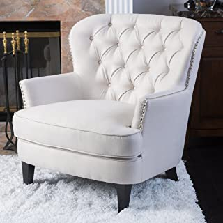 Christopher Knight Home Ckh Arm Chair, Ivory