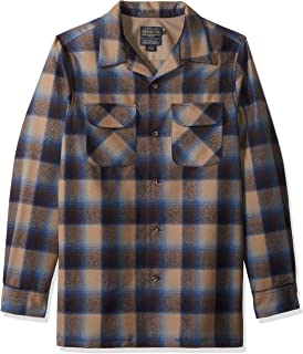 Men's Long Sleeve Fitted Board Shirt
