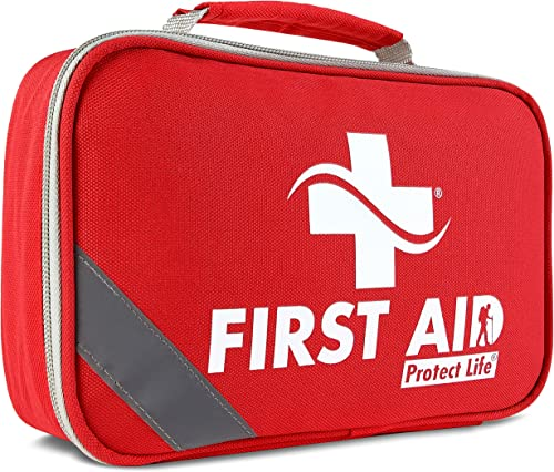 2-in-1 First Aid Kit for Car - 250 Piece - First Aid Kits for Businesses | Home First Aid Kit, Bonus Mini 1st Aid Kit...
