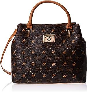 BHPC Womens Satchel Bag, BROWN - BHVA3590BN