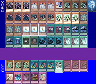 YUGIOH Tournament Ready Sea Lancer Frog Deck with Complete Side Deck with exclusive Phantasm Gaming Token + a Deck Box & 100 Sleeves