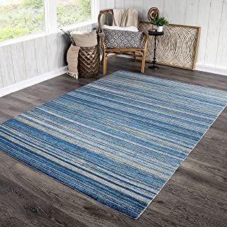 Orian Rugs Bali Indoor/Outdoor Still Waters Area Rug, 5'3
