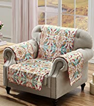 Greenland Home Joanna's Garden Slipcover, Arm Chair, White