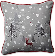 Amazon Com Reindeer Throw Pillow