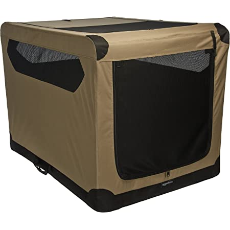 Amazon Basics Portable Folding Soft Dog Travel Crate Kennel