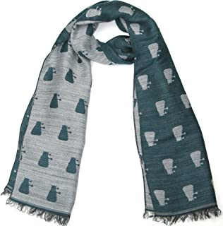 Dr. Who Dalek Scarf - Official BBC Doctor Who Scarf by LOVARZI