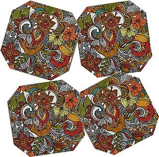 Deny Designs Valentina Ramos Ava Coasters, Set of 4