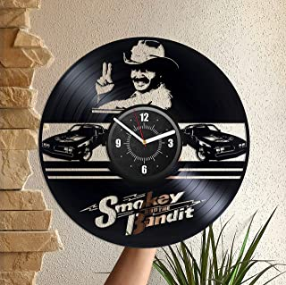 Vinyl Record Wall Clock 12
