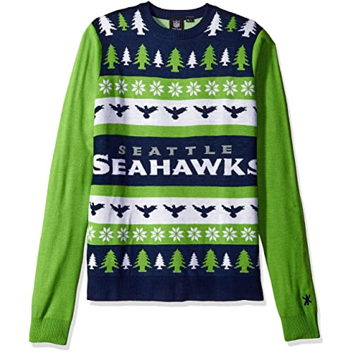 huge discount 3ceaa 19196 Seattle Seahawks Ugly Christmas Sweater: Amazon.com