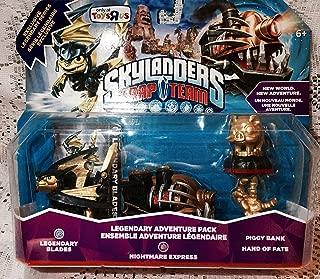 skylanders trap team legendary nightmare express adventure pack