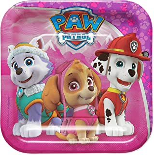 American Greetings Paw Patrol Pink Dessert Plates Paper, 40-Count