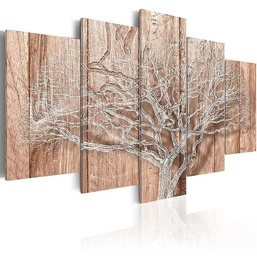 BD XXL Murando Impression Sur Toile Intissee 200x100 Cm Cm 5 Parties  Tableau Tableaux Decoration Murale