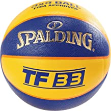 Spalding NBA Highlight Ballon de Basket Femme, NoirRose