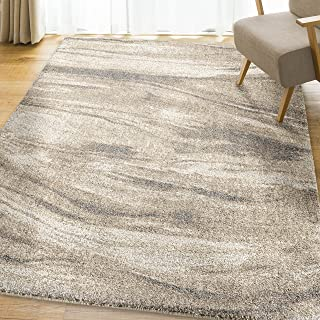 Orian Rugs Super Shag Collection 392463 Sycamore Area Rug, 5'3