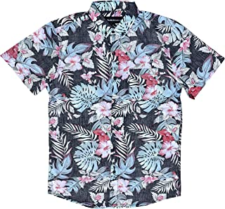 M MOLOKAI SURF 官方 Molokai 纽扣修身夏威夷短袖衬衫
