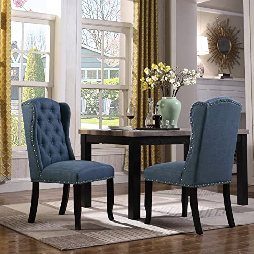 Contemporary Wingback Chairs Living Room Baci Living Room