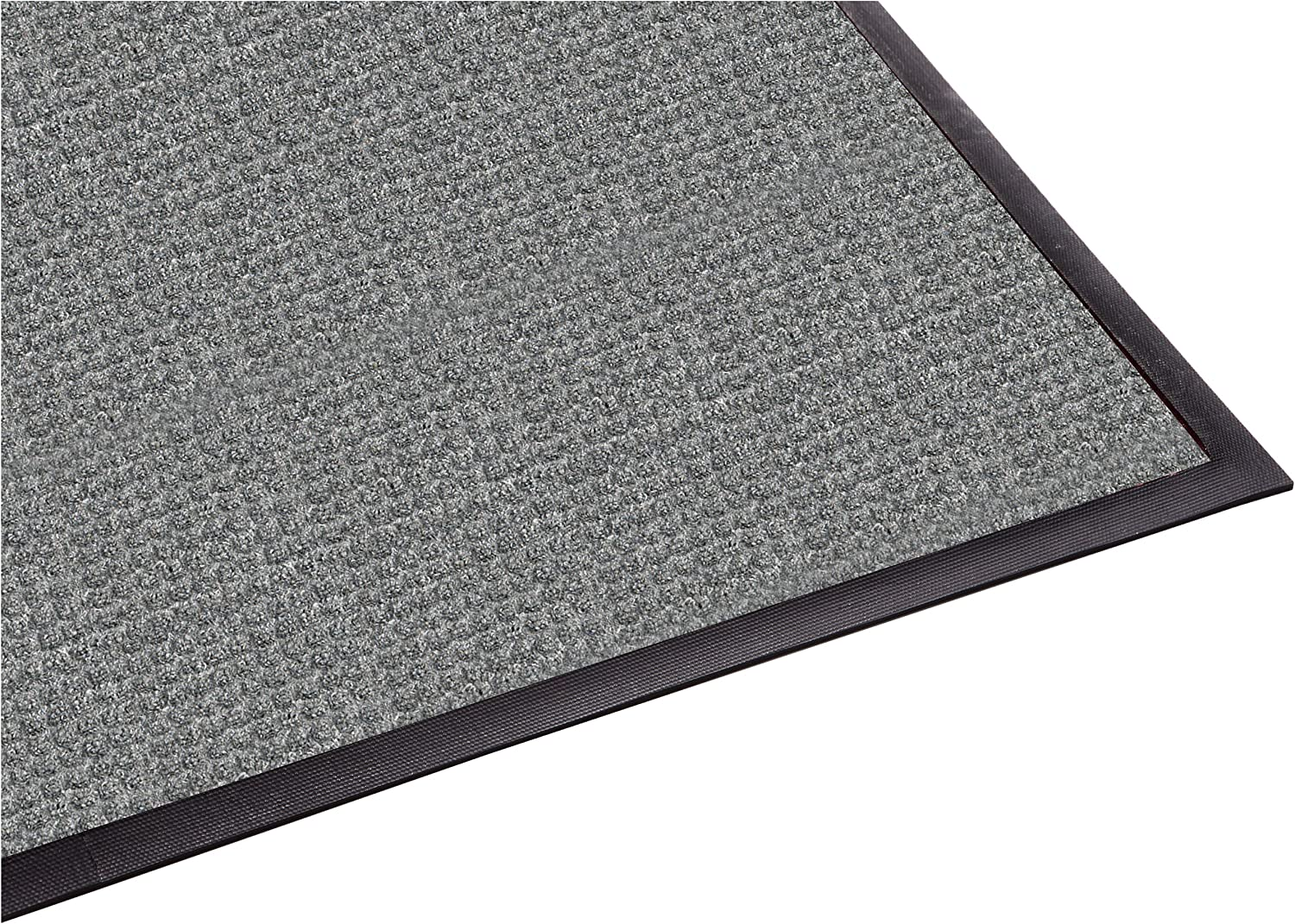 Guardian WaterGuard Indoor Outdoor Wiper Scraper Floor Mat, Rubber Nylon, 3'x10', Grey