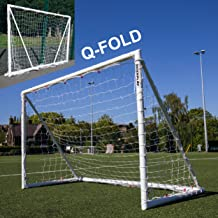 QuickPlay Q-Fold | The 30 Second Folding Soccer Goal for Backyard [Single Goal] The Best Weatherproof Soccer Net for Kids and Adults – 2YR Warranty