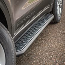ARIES 2051973 AeroTread 73-Inch Black Stainless Steel SUV Running Boards Brackets Sold Separately