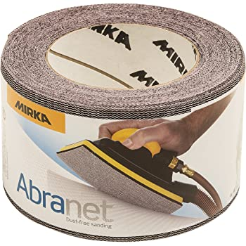 Mirka 9A-150-220RP 10 pieces 2 3//4-Inch by 8-Inch P220 Abranet Sheets