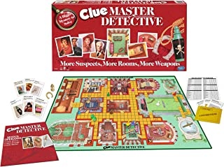 Winning Moves Clue Master Detective - Board Game, Multi-Colored