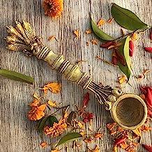 Aakrati Religious Brass Metal Traditional Hand Made Pooja/Havan Spoon