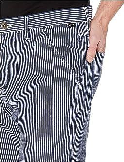 Dress Blues/Hickory Stripe
