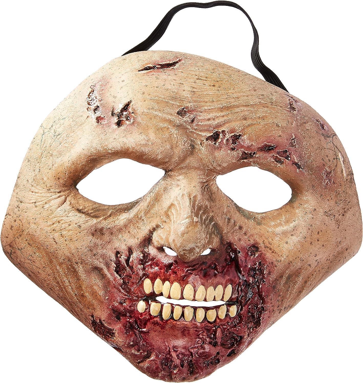 Trick Or Treat Studios Men's Walking Deadredted Walker Face Mask