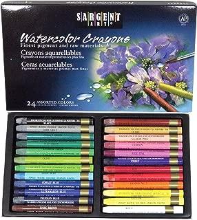 Sargent Art 22-1124 Artist Quality 24 Premium Watercolor Crayons
