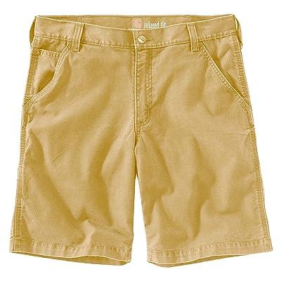 Carhartt Big Tall Rugged Flex Rigby Shorts (Hickory) Men