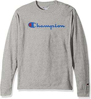 Champion LIFE Mens Cotton Long Sleeve Tee Long_Sleeve Shirt