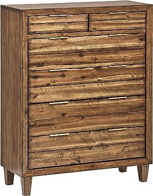 Stone & Beam Bateman Casual Wood Dresser, 42