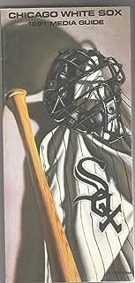 Chicago White Sox Media Guide 1991 MLB