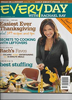 Every Day with Rachael Ray, November 2006 Issue