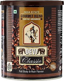DEVI Classic Gourmet Blend Coffee Grounds, 250g