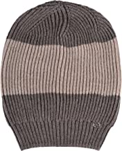 Gucci Unisex Multi-Color 100% Wool Beanie Hat One Size Brown/Beige
