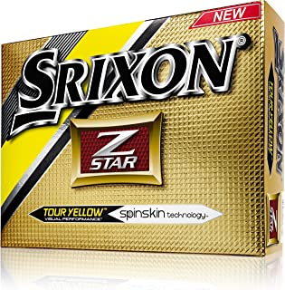 SRIXON(スリクソン) 2015年 Z STAR 1ダース (12球) US仕様 ゴルフボール