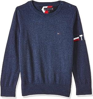Tommy Hilfiger Essential CTTN/Cashmere Sweater Sudadera para Niños