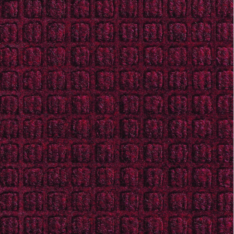 Aviditi Waterhog Runner, 3' X 20', Red/Black, Medium (MAT177RB)