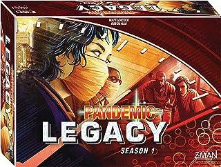 Z-Man Games Pandemic Legacy Board Game, Red