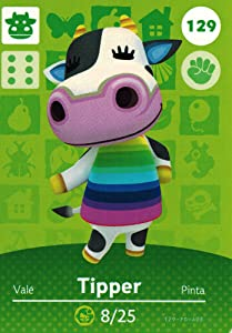 Nintendo Animal Crossing Happy Home Designer Amiibo Card Tipper 129/200 USA Version