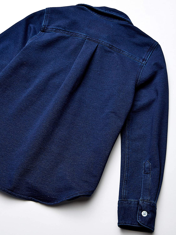 Marke Spotted Zebra Jungen Knit Denim Shirt