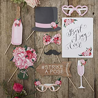 Best vintage style wedding photo booth props Reviews