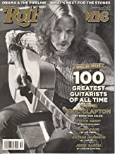 Rolling Stone December 8th,2011 Eric Clapton Cover (Special Issue 100 Greatest Guitarists of all Time,Issue # 1145)