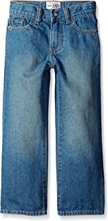 The Children's Place Big Boys' Bootcut Jeans, Light Stone, 6