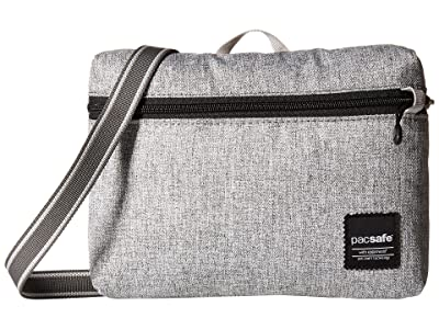 Pacsafe Slingsafe LX50 Anti-Theft Mini Crossbody Bag (Tweed Grey) Bags