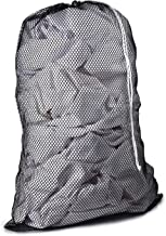 Commercial Mesh Laundry Bag - Sturdy Mesh Material with Drawstring Closure. Ideal Machine Washable Mesh Laundry Bag for Fa...