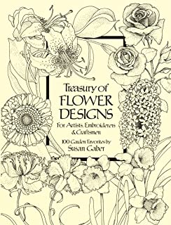 Treasury of Flower Designs for Artists, Embroiderers and Craftsmen (Dover Pictorial Archive) (English Edition)