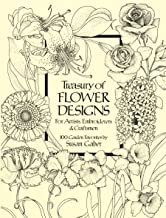 Treasury of Flower Designs for Artists, Embroiderers and Craftsmen (Dover Pictorial Archive)